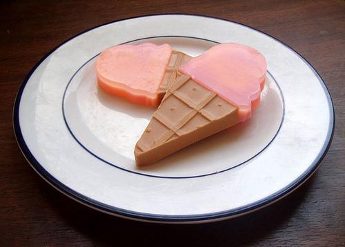 мыло-мороженое