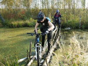 Поездка по бездорожью в велопоходе