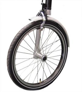 Вилка one-leg на переднем колесе