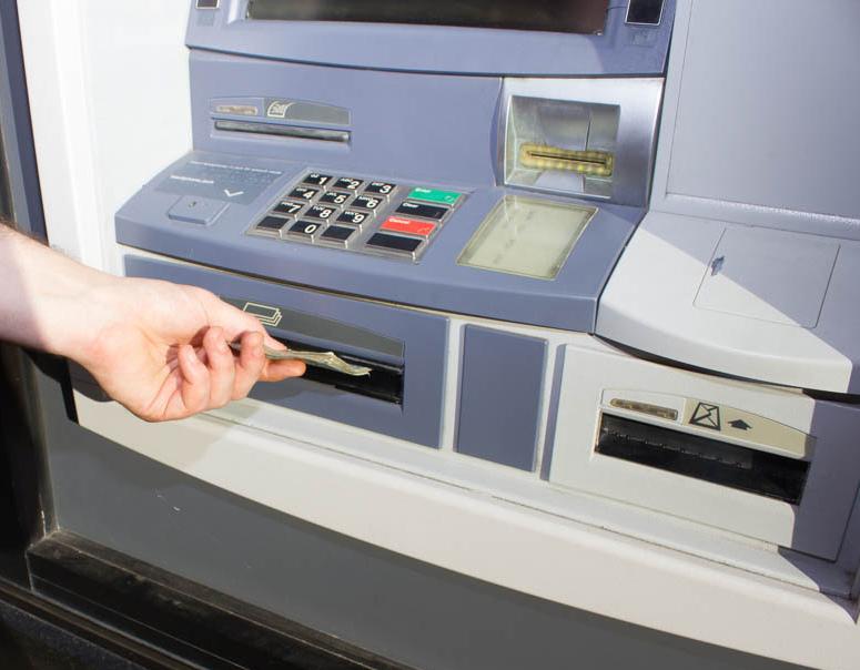 Работающий банкомат