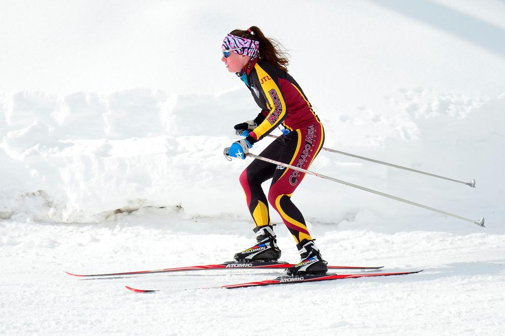 Коньковый бег на лыжах
