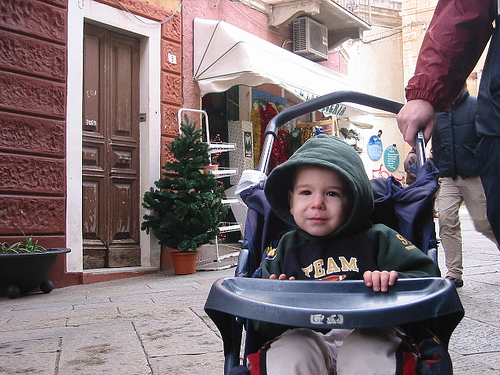 Поход по магазинам с детской коляской