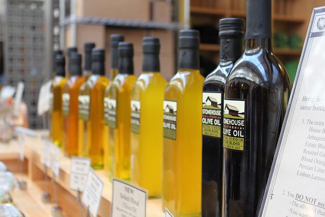 Бутилированное растительное масло