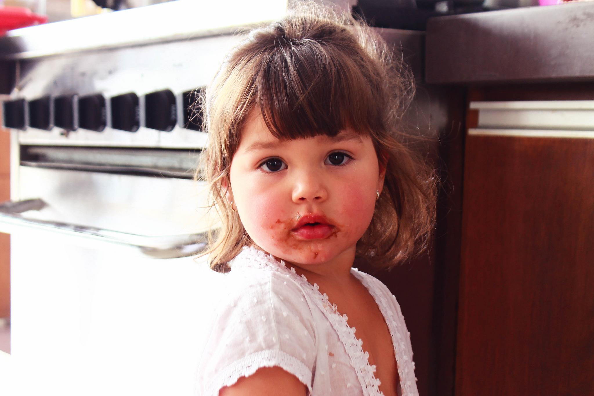 шоколад и ребенок