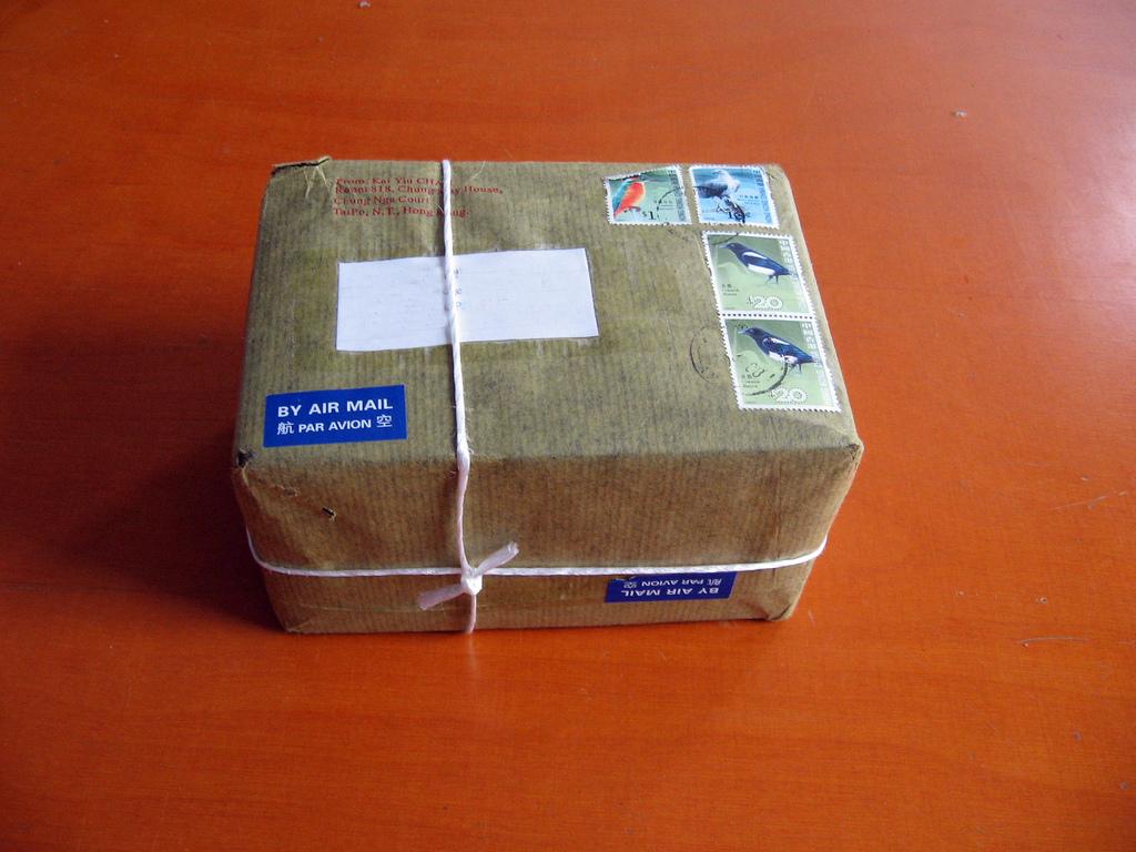 почтовая посылка