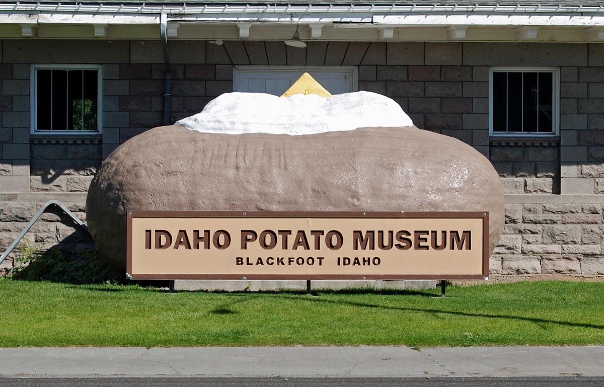 музей картофеля в Айдахо