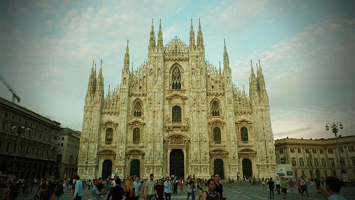 Рейсы в Милан отправляются ежедневно