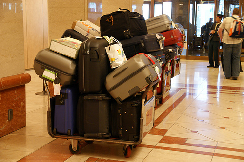 Бесплатно можно провести не более десяти килограмм багажа